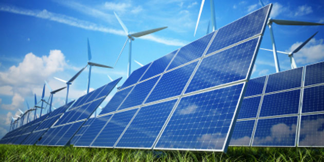 Energy Industries - solar panels and wind turbines
